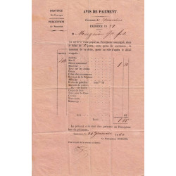Duché de Savoie - Samoens - Contributions 1859 - 1 livres - Etat : TTB+