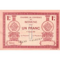 Béthune - Pirot 26-7 - 1 franc - 04/10/1915 - Spécimen - Etat : SUP