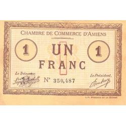 Amiens - Pirot 7-16a - 1 franc - 1915 - Etat : TTB-