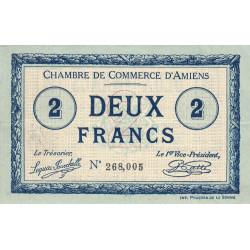 Amiens - Pirot 7-31 - 2 francs - 1915 - Etat : TTB