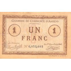 Amiens - Pirot 7-36 - 1 franc - 1915 - Etat : TB