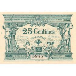 Angers (Maine-et-Loire) - Pirot 8-8 - 25 centimes - Série J2 - 11/1917 - Etat : SPL