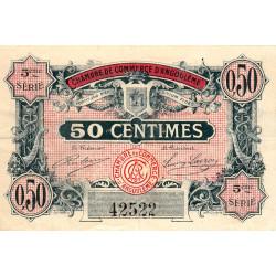 Angoulême - Pirot 9-33b - 50 centimes - 1917 - Etat : TTB