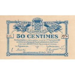 Annonay - Pirot 11-7 - 50 centimes - 1914 - Etat : SUP+