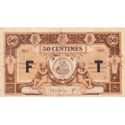 Aurillac (Cantal) - Pirot 16-7 - 50 centimes - Série F - 1915 - Etat : TB