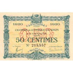 Avignon - Pirot 18-22 - 50 centimes - 1920 - Etat : NEUF