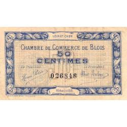 Blois (Loir-et-Cher) - Pirot 28-1 - 50 centimes - 1915 - Etat : TB