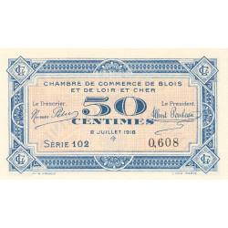 Blois (Loir-et-Cher) - Pirot 28-9 - 50 centimes - 02/07/1918 - Etat : NEUF