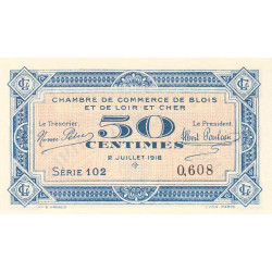 Blois (Loir-et-Cher) - Pirot 28-9 - 50 centimes - Etat : NEUF