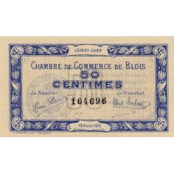 Blois (Loir-et-Cher) - Pirot 28-1 - 50 centimes - 1915 - Etat : SPL