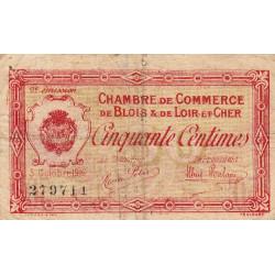 Blois (Loir-et-Cher) - Pirot 28-5 - 50 centimes - 03/10/1916 - Etat : B+