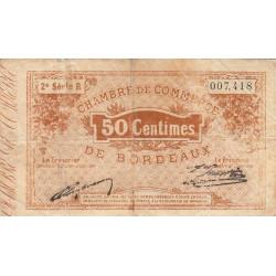 Bordeaux - Pirot 30-4 - 50 centimes - 1914 - Etat : B