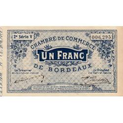 Bordeaux - Pirot 30-6 - 1 franc- Série V - 1914 - Etat : SUP
