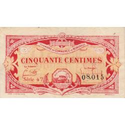 Bordeaux - Pirot 30-24 - 50 centimes - Série 47 - 1920 - Etat : TB+