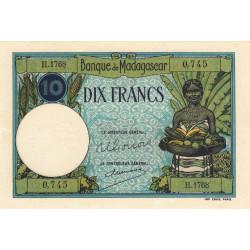 Madagascar - Pick 36c - 10 francs - 1948 - Etat : pr.NEUF