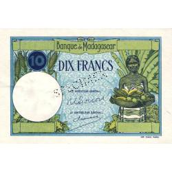 Madagascar - Pick 36cs - 10 francs - 1948 - Spécimen - Etat : SPL