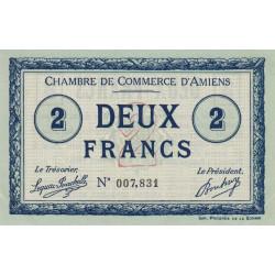 Amiens - Pirot 7-11 - 2 francs - 1915 - Etat : SPL