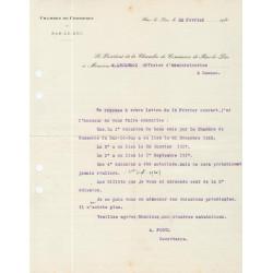 Bar-le-Duc - Pirot 19 - Document de 1919
