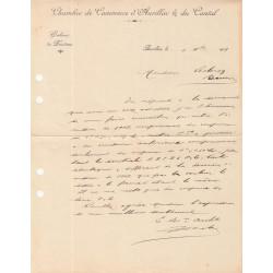 Aurillac (Cantal) - Pirot 16 - Document de 1918