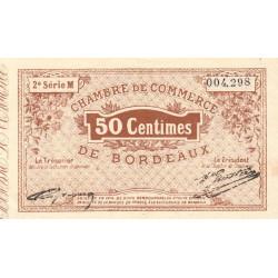 Bordeaux - Pirot 30-4 - 50 centimes - Série M - 1914 - Etat : SUP