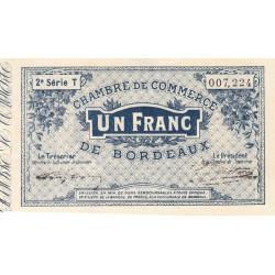 Bordeaux - Pirot 30-6 - 1 franc- Série T - 1914 - Etat : SUP