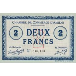 Amiens - Pirot 7-18 - 2 francs - 1915 - Etat : SPL
