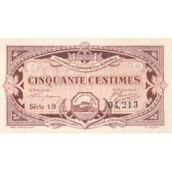 Bordeaux - Pirot 30-20 - 50 centimes - 1917 - Etat : SUP