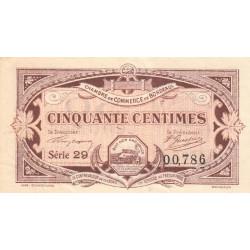 Bordeaux - Pirot 30-20 - 50 centimes - 1917 - Etat : TTB