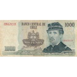 Chili - Pick 154e_5 - 1'000 pesos - 1994 - Etat : TB-