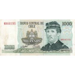 Chili - Pick 154f_11 - 1'000 pesos - 2004 - Etat : TTB-
