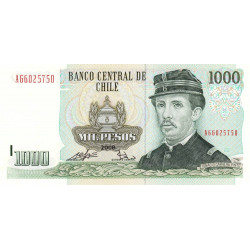 Chili - Pick 154g_4 - 1'000 pesos - 2008 - Etat : NEUF
