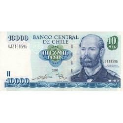 Chili - Pick 157c7 - 10'000 pesos - 2008 - Etat : TTB
