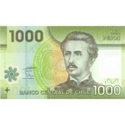 Chili - Pick 161a - 1'000 pesos - Polymère - 2010 - Etat : NEUF