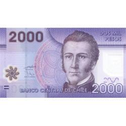 Chili - Pick 162a - 2'000 pesos - Polymère - 2009 - Etat : NEUF