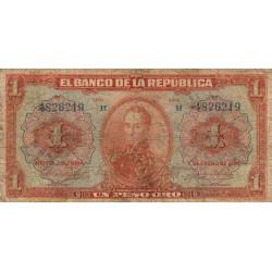 Colombie - Pick 371 - 1 peso oro - 01/01/1926 - Etat : B-