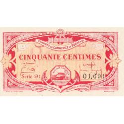 Bordeaux - Pirot 30-24 - 50 centimes - 1920 - Etat : SPL