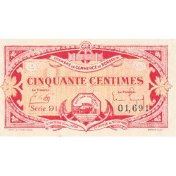 Bordeaux - Pirot 30-24 - 50 centimes - Série 91 - 1920 - Etat : SPL