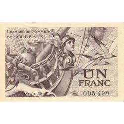 Bordeaux - Pirot 30-30 - 1 franc - 1921 - Etat : SPL