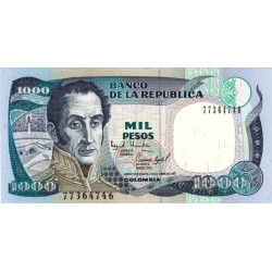 Colombie - Pick 438_5 - 1'000 pesos - 1995 - Etat : NEUF