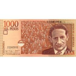 Colombie - Pick 450b - 1'000 pesos - 27/09/2001 - Etat : NEUF