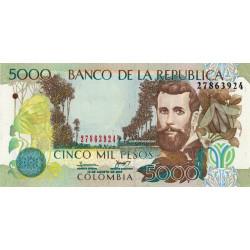 Colombie - Pick 452i - 5'000 pesos - 18/08/2007 - Etat : NEUF