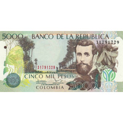 Colombie - Pick 452o - 5'000 pesos - 01/09/2013 - Etat : NEUF
