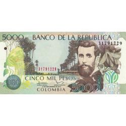 Colombie - Pick 452o - 5'000 pesos - 2013 - Etat : NEUF