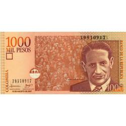 Colombie - Pick 456i - 1'000 pesos - 15/08/2007 - Etat : NEUF
