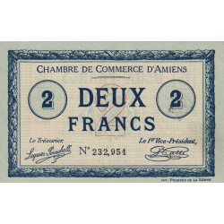 Amiens - Pirot 7-31 - 2 francs - 1915 - Etat : SPL