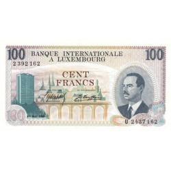 Luxembourg - Pick 14 - 100 francs - 1968 - Etat : SUP+