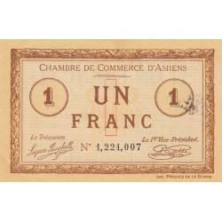 Amiens - Pirot 7-36 - 1 franc - 1915 - Etat : SUP