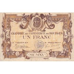 Bourges - Pirot 32-6 - Série A - 1 franc - 1915 - Etat : TB+