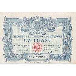 Bourges - Pirot 32-11-A - 1 franc - 1917 - Etat : TB-