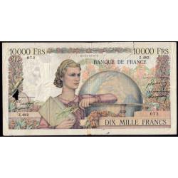 F 50-21 - 01/12/1949 - 10000 francs - Génie Français - Etat : B-